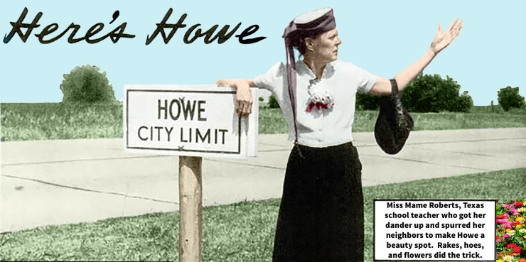 Mame Roberts Here's Howe color